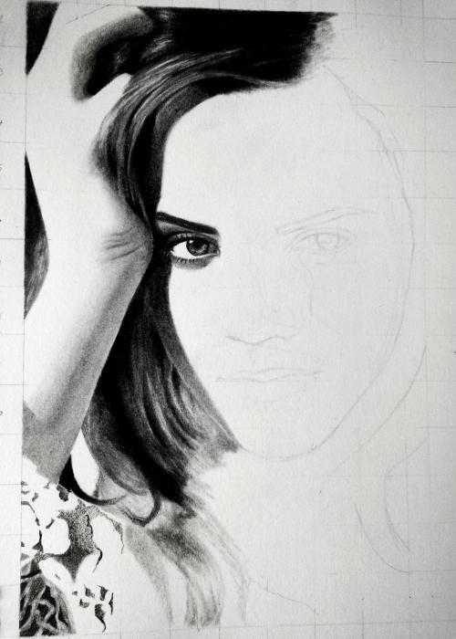 Emma Watson por Patcha